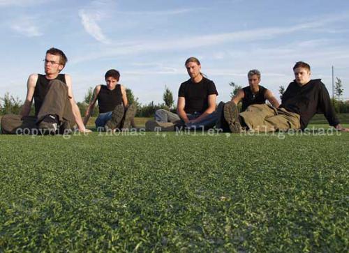 Die Worbiser Band »Ravendark«(Foto für CD-Booklet)