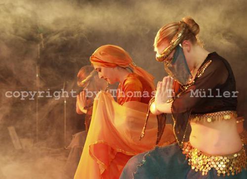 Die Gruppe »Tanzreise«aus Heiligenstadt(Foto für Thüringer Allgemeine, 2005)